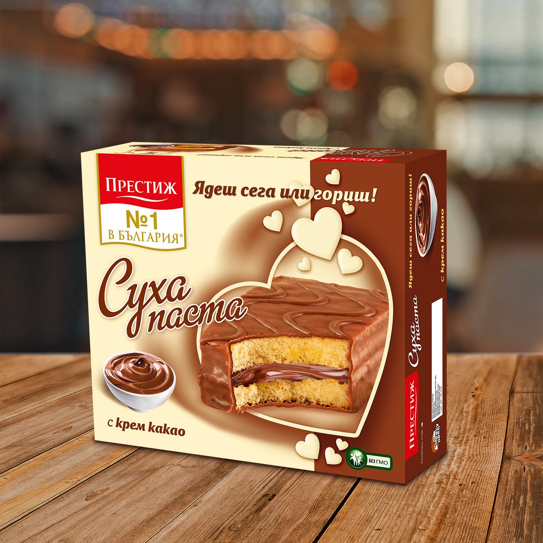 Престиж сухи пасти фамилна опаковка Какао