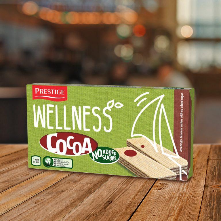 Престиж Wellness нетунквани вафли Какао