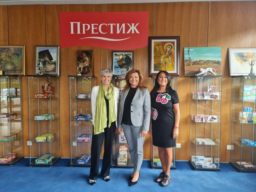 Senior members from America for Bulgaria Foundation visited PRESTIGE