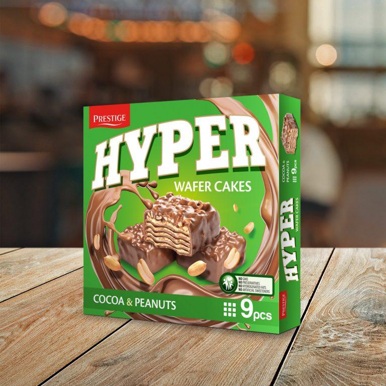Hyper Wafer Cake