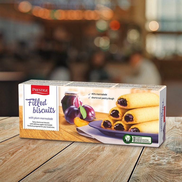 Prestige Filled Biscuits Plum