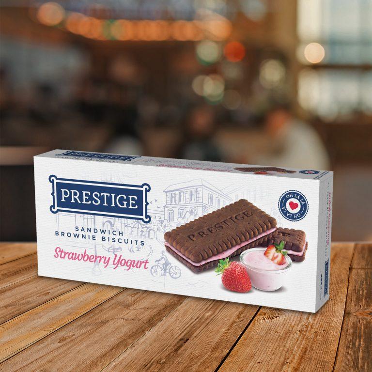 Prestige Oh Lá Lá Brownie Strawberry Yogurt