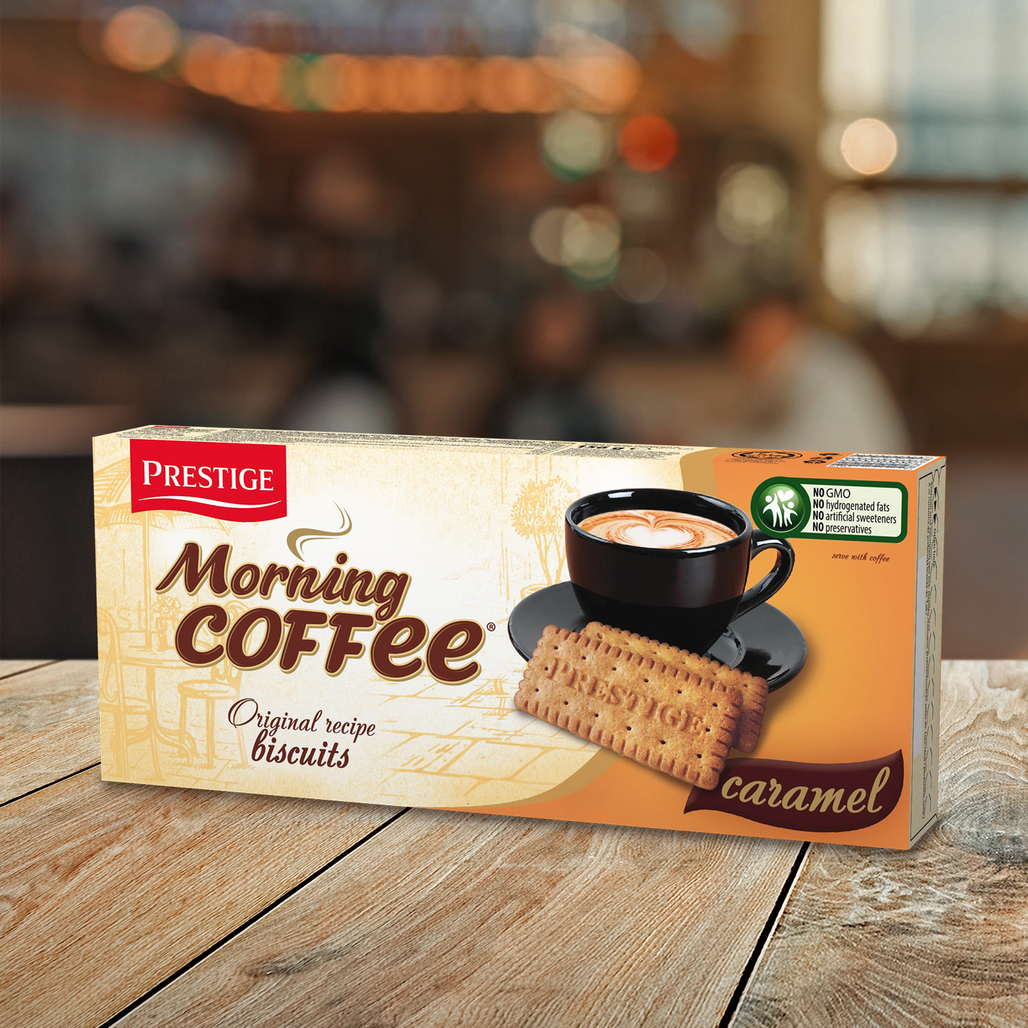 Morning Coffee Biscuits Caramel