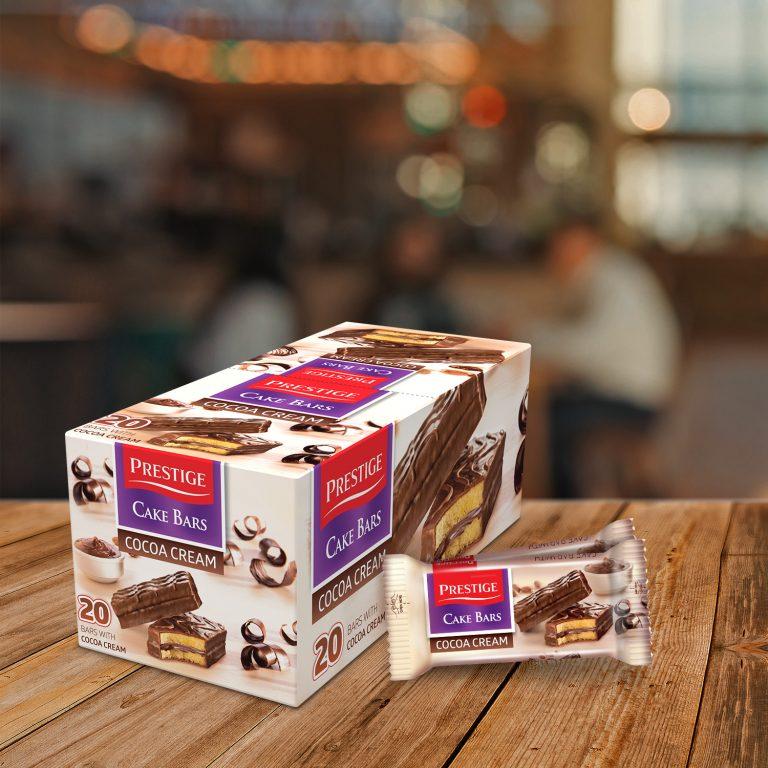 Prestige Cake Bars Single Pack Cocoa