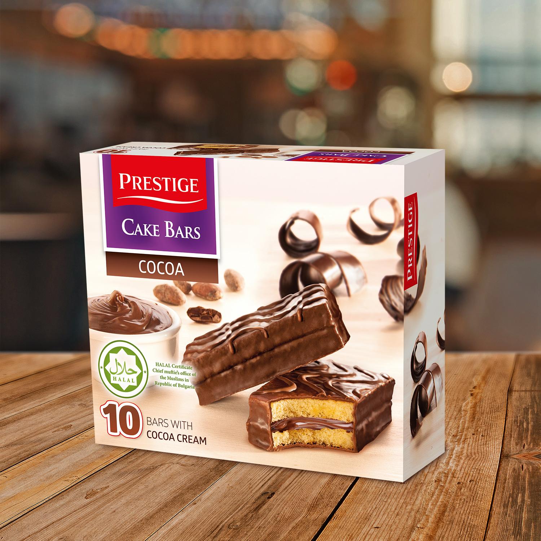 Prestige Cake Bars Family Pack Cocoa HALAL