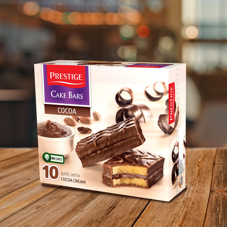 Prestige Cake Bars Family Pack Cocoa