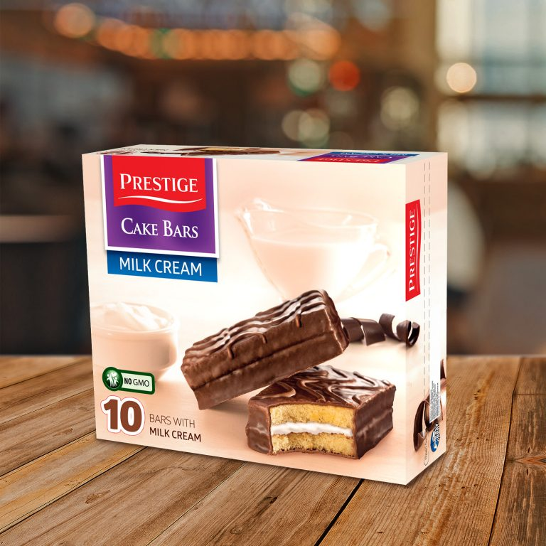Prestige Cake Bars Family Pack Milk