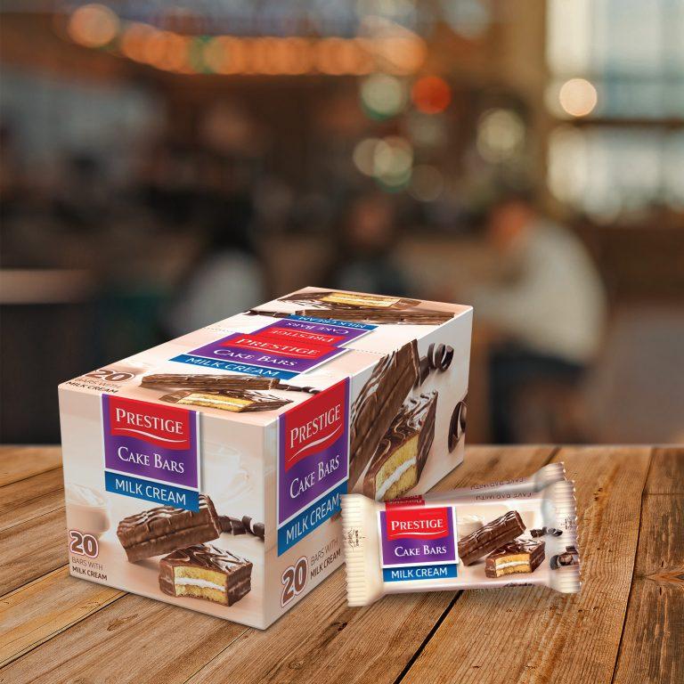 Prestige Cake Bars Single Pack Milk