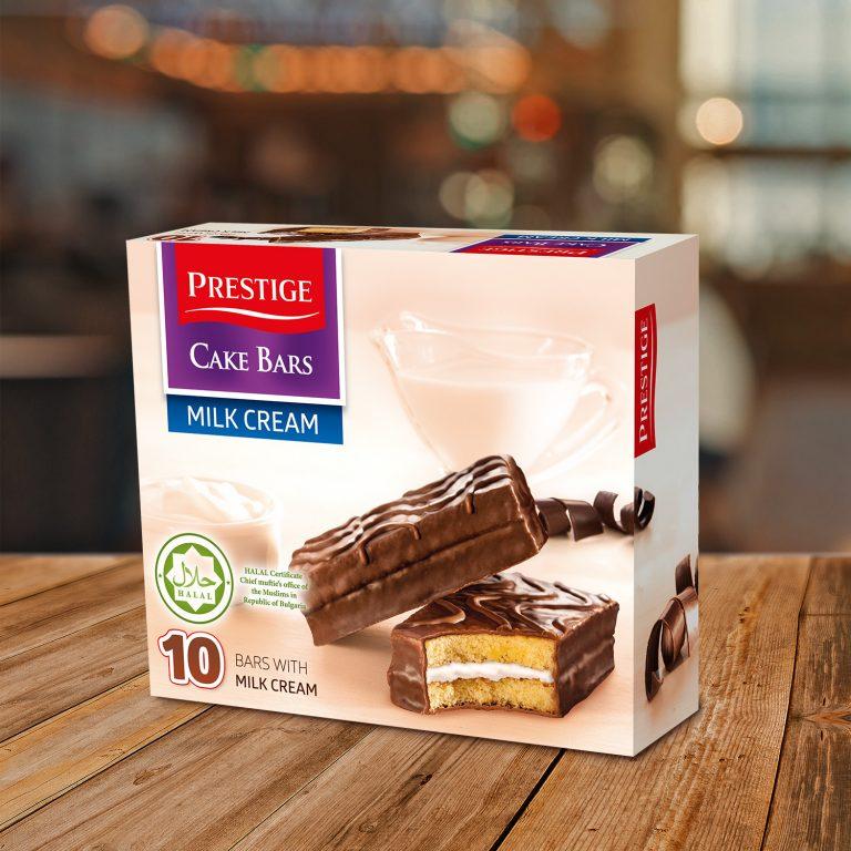 Prestige Cake Bars Family Pack Milk HALAL