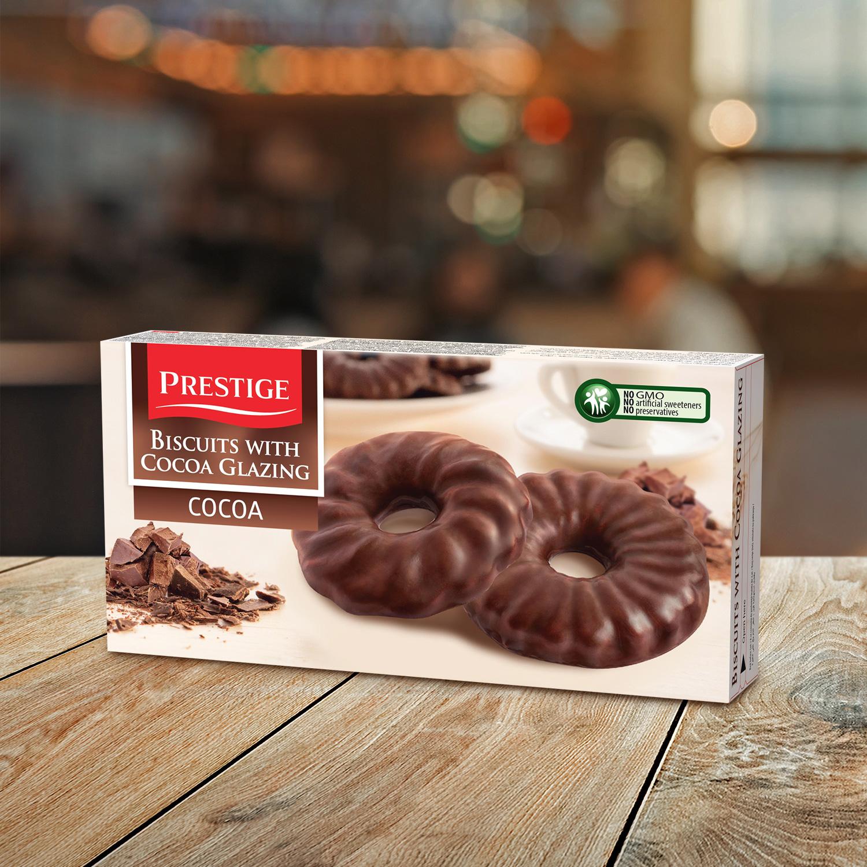 Prestige Coated Biscuits Cocoa