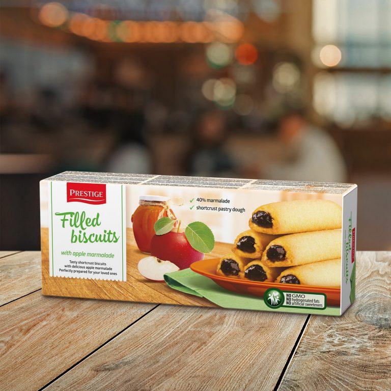 Prestige Filled Biscuits Apple
